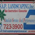 A.S.A.P. Landscaping, Inc.