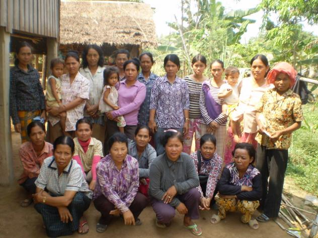 Mrs. Kosal Penh Village Bank Group