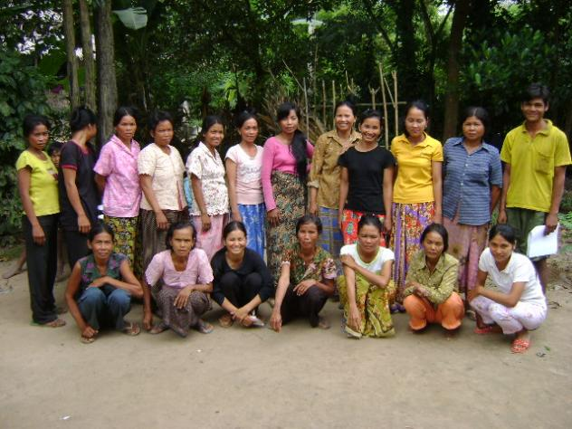 Mrs. Thorn Chea Village Bank Group