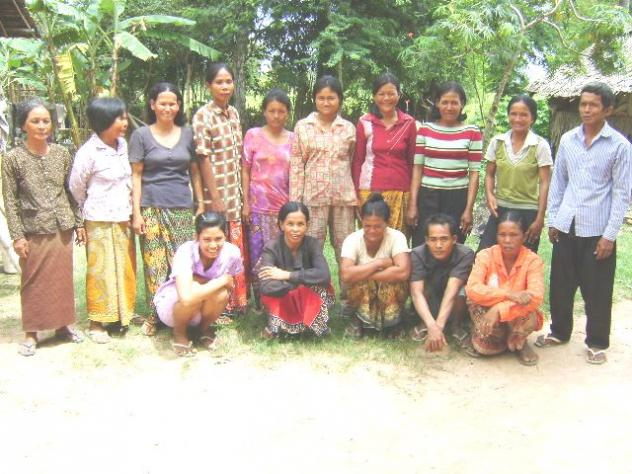 Mr. Seik Khorn Village Bank Group