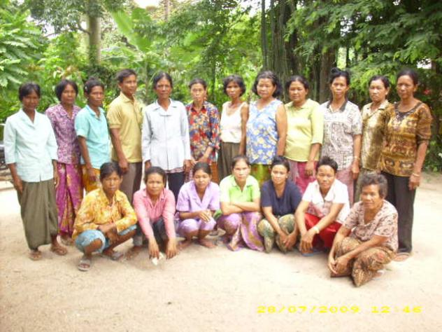 Mrs. Mom Sar Village Bank Group