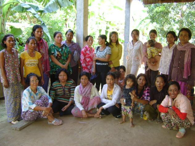 Mrs. Sobon Naov Village Bank Group