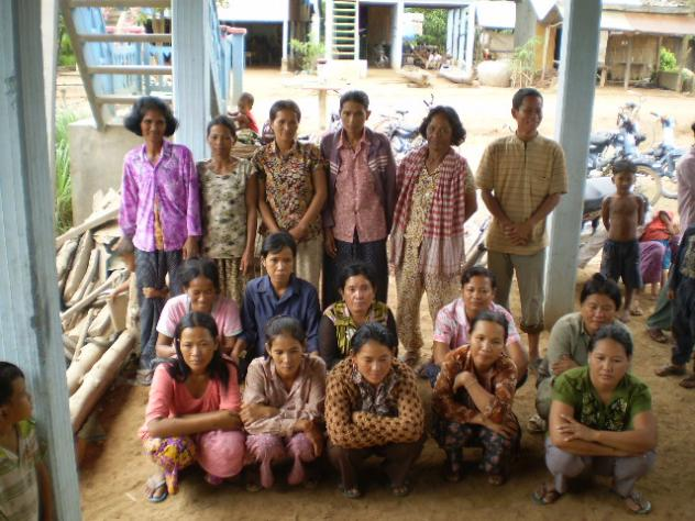 Mrs. Vouchnor Hok Village Bank Group