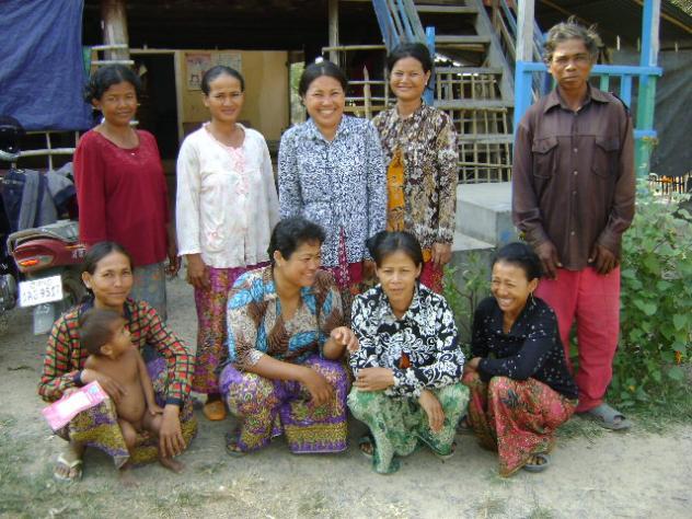 Mrs. Suos Thoeun Village Bank Group