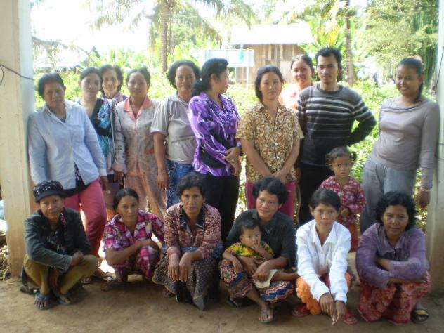 Mrs. Savy Mai Village Bank Group