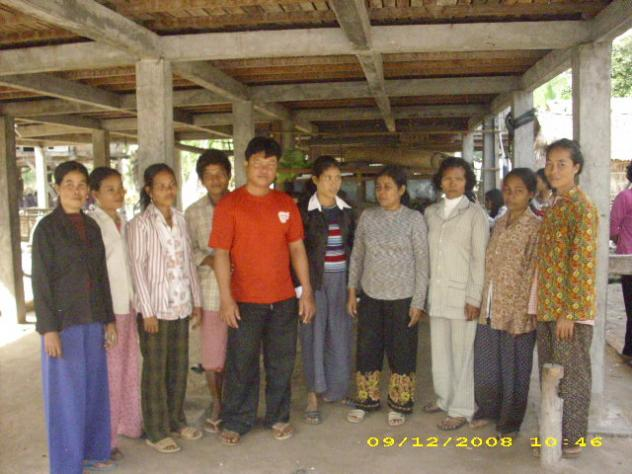 Mrs. Vy Yab Village Bank Group