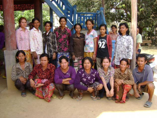 Mrs. Nget Village Bank Group