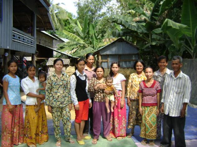 Mrs. Lon Mea Village Bank Group