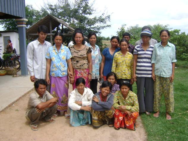 Mr. Chantha Sek Village Bank Group