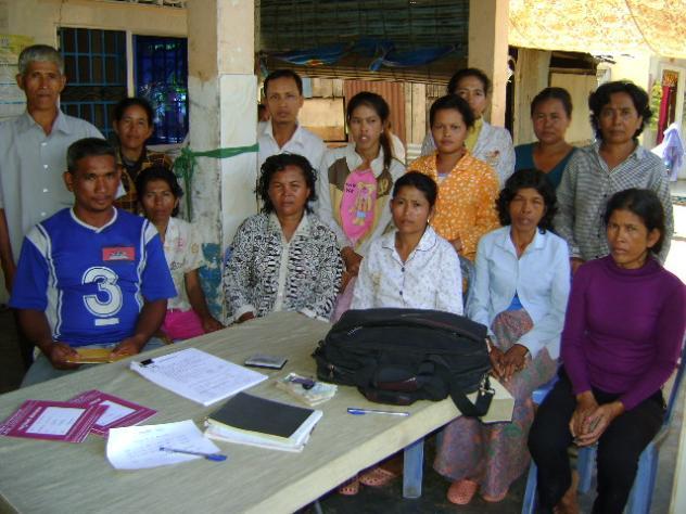 Mrs. Sokoeun Sam Village Bank Group