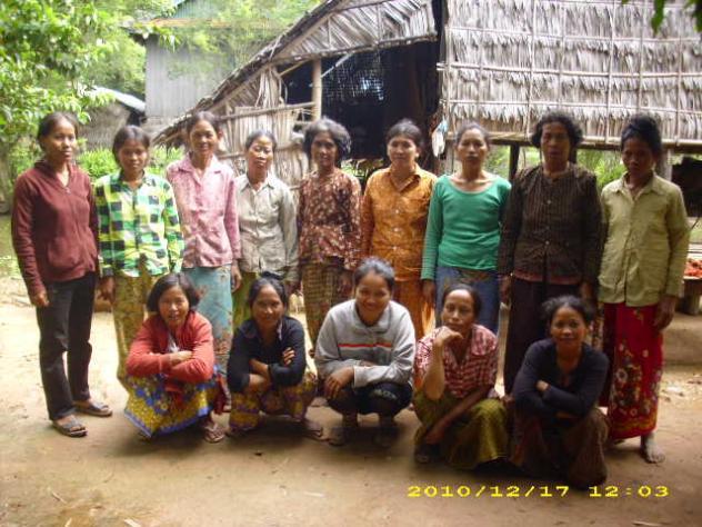 Mrs. Var Thoeun Village Bank Group