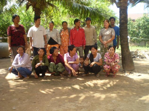 Mrs. Srorn Chhay  Village Bank Group
