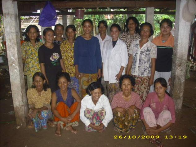 Mrs. Savon Khun Village Bank Group
