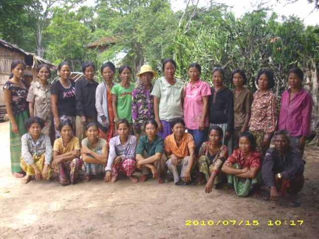Mrs. Loeng Mam Village Bank Group