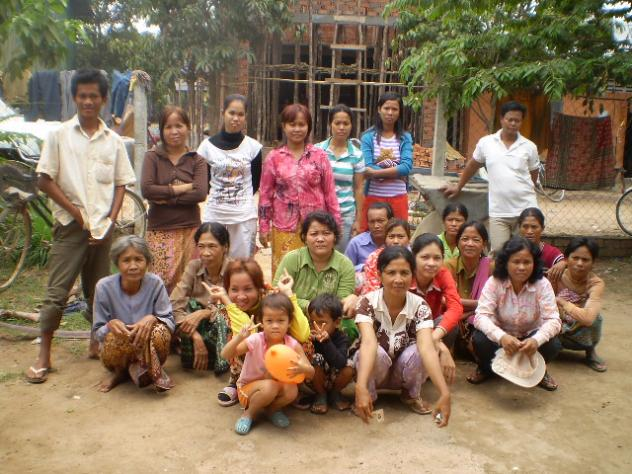 Mrs. Ra Chhean Village Bank Group