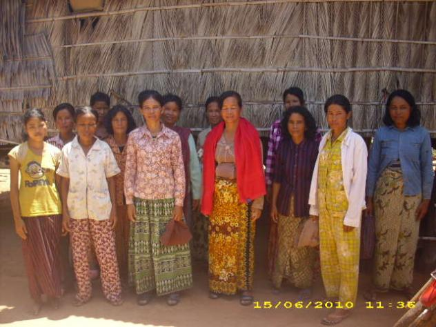 Mrs. Phea Chey Village Bank Group