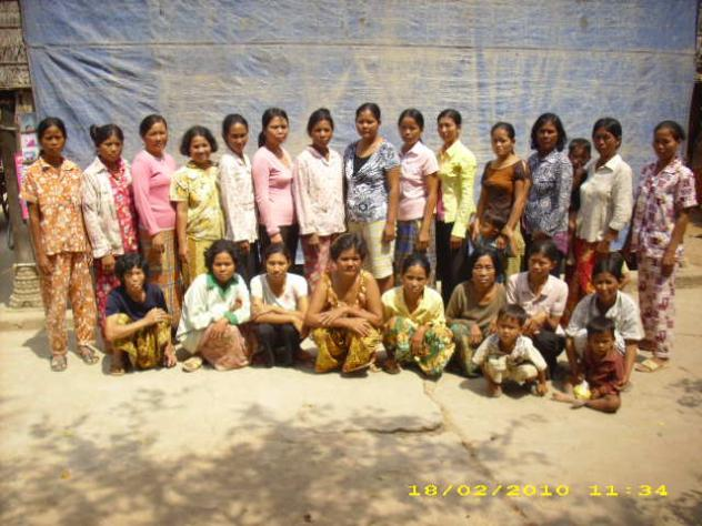 Mrs. Muong Pil Village Bank Group