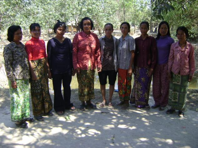Mrs. Chanthoeun Om Village Bank Group